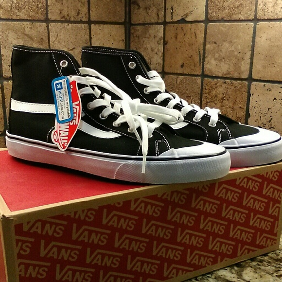 cbea586fa6 Vans Black Ball Hi Tops